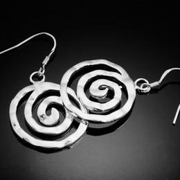 "Wholesale Stretcher Earrings - 2013 NWT Earrings 925 Stering Sliver 4 1.57"" Spiral Stretcher Taper Ear Plugs Gauges 10pcs lot Women's Jewelry Baby Girl Drop Earrings SG-1"