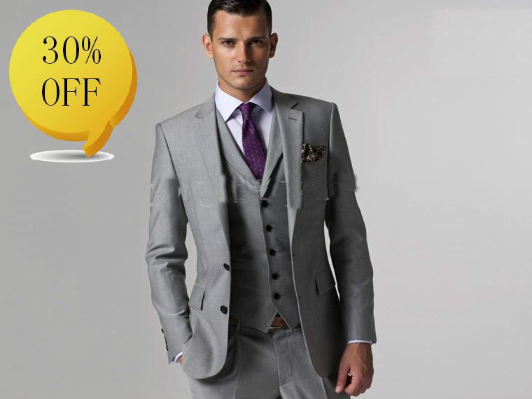 2016 New Designs Men Suit Custom Made Suit Men Suit Dress Light ...