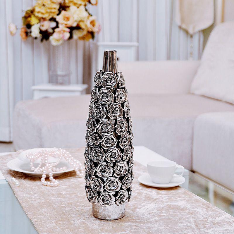 Modern Home Ceramic Vase Living Room Decoration Rose Bottle Crafts X22 Decorative  Vases With Flowers Designer Flower Vases From Auergle1, $170.62| Dhgate. Part 13