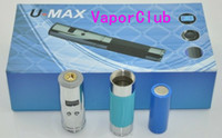 Wholesale New Lavatube Kit - NEW PRODUCT 2200mAh Stainless 3V 6V Mod UMAX LavaTube E Cigarett Vivi Nova KIT FREE SHIPPING