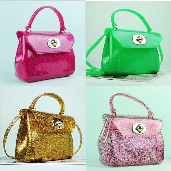 Designer Womens Satchel Candy Bag Jelly Bag Sweet Tote Handbag ...