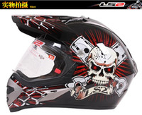 Wholesale Helmet Ls2 Mx433 - LS2 MX433 skynet Motorcycle Helmet full face helmet motocross Moto Racing Off road helmet color