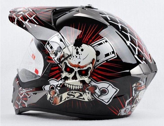 LS2 MX433 skynet Casque de moto casque intégral moto cross Moto Racing casque de route taille L XL XXL