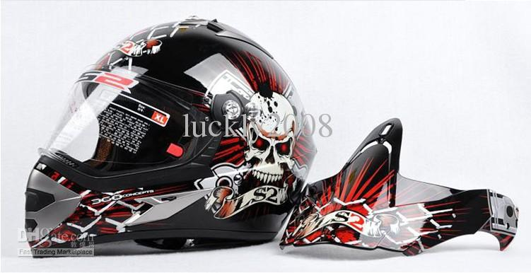 LS2 MX433 skynet Capacete Da Motocicleta capacete integral motocross Moto Racing Off road capacete cor tamanho L XL XXL