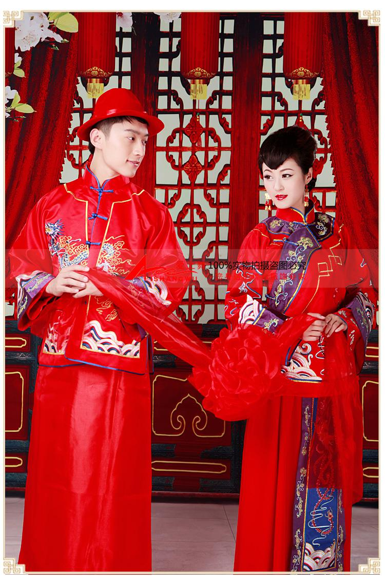 Hottest Chinese Traditional Wedding Dress Toast Cheongsam Bride And Groom Wedding Suit Vintage Heavy Heandwork Embroidery Dragon And Phoenix Old Fashioned ...  sc 1 st  DHgate.com & Hottest Chinese Traditional Wedding Dress Toast Cheongsam Bride And ...