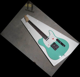 Wholesale Electric Guitar Sales China - New Arrival China guitar Tel model electric Guitar China Guitar HOT SALE green 130516