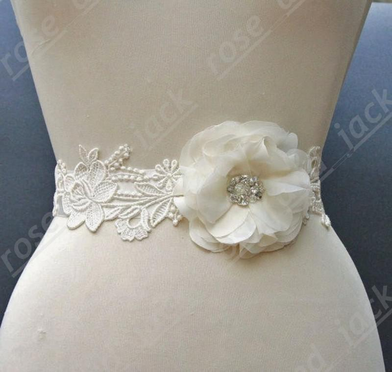 Flower Belts For Wedding Dresses: 2019 Wedding Dress Sash Wedding Dress Belt Wedding Dress