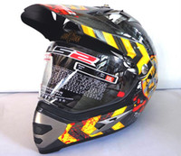 Wholesale Ls2 Mx433 Motorcycle Helmet Abs - LS2 MX433 JUS crown Motorcycle Off road Helmet full face helmet motocross Moto Racing helmet