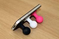 ipad saugständer großhandel-1500pcs neuer Gummikraken-Saugkraken-Saugerstandplatz für iphone 5 5G, ipad Mini, Handys