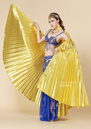 Wholesale Egyptian Belly Dance Wings - Egyptian Egypt Belly Dance Dancing Costume Isis Wings Dance Wear Wing 2 Colors