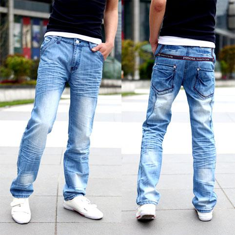 c6b7f95398b 2019 Men  s Jeans Man Straight Jean Fashion Style Hiphop Cowboy Unique  Color Light Color Washed 2013 Winter Autumn New Style From Elegant jeans