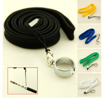 100pcs / lot Necklace String / Neck Chain // Ремешок для эго, ego-t, ego-k, ego-c, ego-F E Cigarette Лучшая цена Доставка DHL