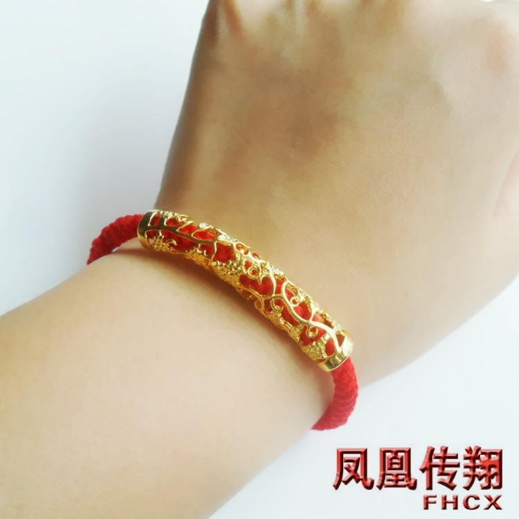 women transfer birthday ffhfghhejjf hard red gold gift pearl bracelet girlfriend string rose jewelry item