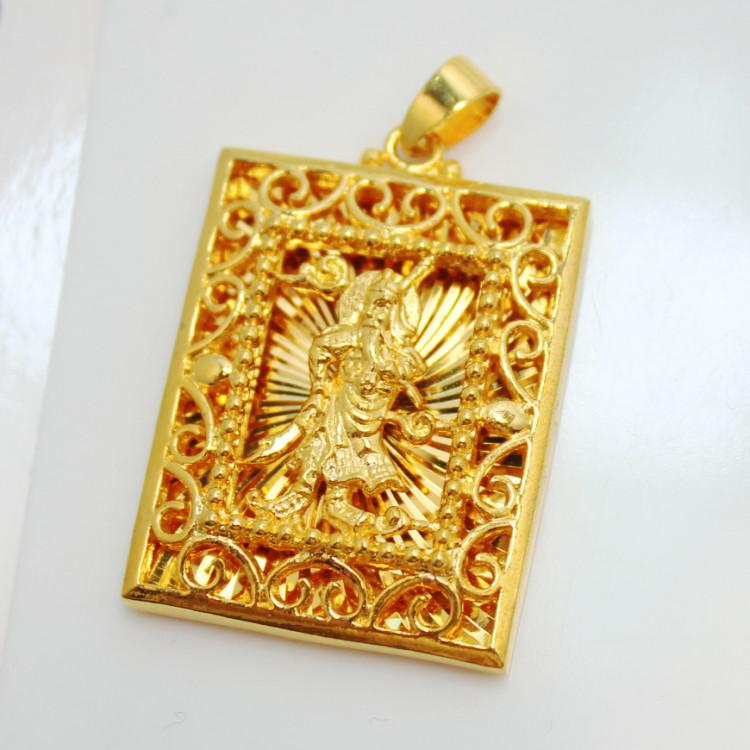 0fb6519fc Wholesale 2013 New Mens Guanyin Buddha Eagle Logo Long Guan Gong 5 Opts  Plated Gold Pendant Owl Pendant Necklace Silver Heart Pendant Necklace From  ...