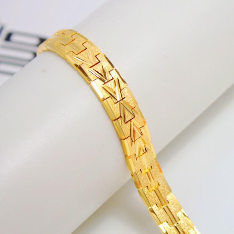Super Cheap Imitation Gold Plated Bracelet Jewelry Upscale Men\'s ...
