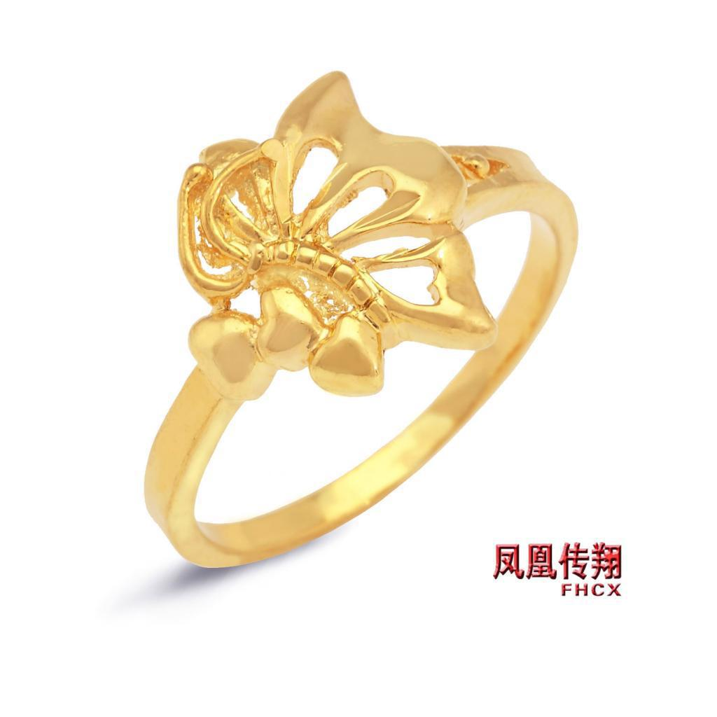 korean brass rings golden wedding sxfedvmukryk plated s ring lady china product