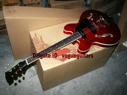Guitars Electric 335 Red Canada - NEW Custom Shop 335 guitar jazz Electric Guitar p90 electric guitar for sale