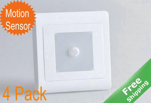 2018 Led Motion Sensor Stair Light+8 Leds+White/Warm White+220 240v + Free  Shpping From Jacony, $35.35 | Dhgate.Com