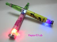 Wholesale Ego New Diamond Batteries - 2013 NEW PRODUCT LED Diamond EGO e cigarette 650mah battery FREE SHIPPING