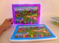 Wholesale Learning Numbers - Y Pad Touch Screen English Learning Machine Numbers and Table Farm Y-pad Ypad for Kids Led Music