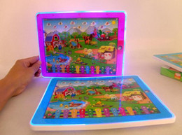 Wholesale Touch Screen Pads For Kids - Y Pad Touch Screen English Learning Machine Numbers and Table Farm Y-pad Ypad for Kids Led Music