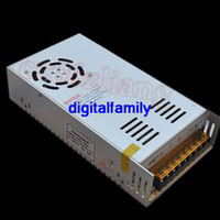 Wholesale Diy Led High Power - High Quality 12V 30A 360W Switch Power Supply Driver for 5050 SMD 3528 SMD 5630 SMD LED Strips Lights 10pcs DHL Free Shipping New DIY