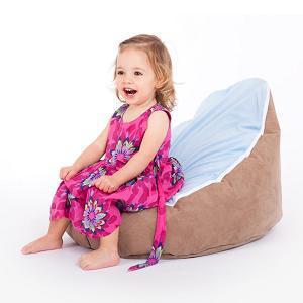 Fabulous 2017 Brown Base Blue Seat Baby Bean Bag Chair Original Doomoo Beanbags From Cowboy2012 15 97 Dhgate Com Dailytribune Chair Design For Home Dailytribuneorg