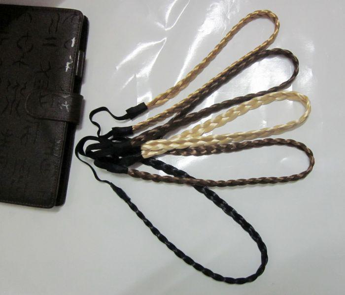 Fascia intrecciata dei capelli intrecciata larghezza libera di salto 1.1CM, fascia, accessorio dei capelli della treccia della treccia /