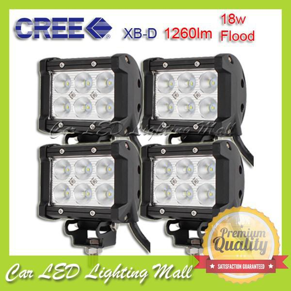 Cree Led Lights >> 18w Offroad Light Bar Cree Led Flood Worklight Bar 4wd Boat Ute Camping 18w Cree Led Offroad Lamp Led Work Light Led Work Light Bulb From China Grace