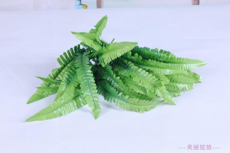 Decorazione artificiale / del giardino della casa dell'erba persiana del fiore artificiale artificiale verde della pianta