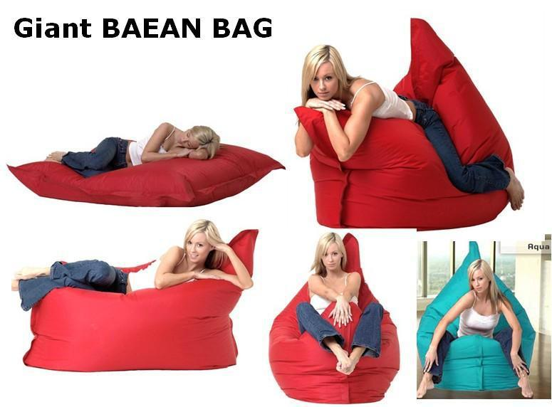 giant extra 140180cm large size bean bag lazy beanbag chair can be used for outdoor u0026 indoor