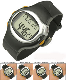 Wholesale Heart Rate Calorie Monitor - Cheapest 6 in 1 Sporty Watch with Heart Pulse Rate Monitor Calorie Counter watches