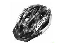 Wholesale Adult Bicycles - Free shipping PC EPS Adult Men's road mountain bike Bicycle helmet cycling bike bicycle carbon Helmet 15 Hole Black red and blue