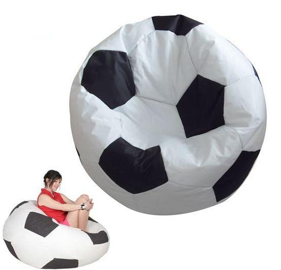 See larger image - 2017 Football Round Bean Bag Chair,Ball Fans' Beanbags Can Be Used