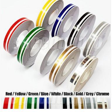 Wholesale 12mm Pin Stripe Tape Streamline Decals Stickers