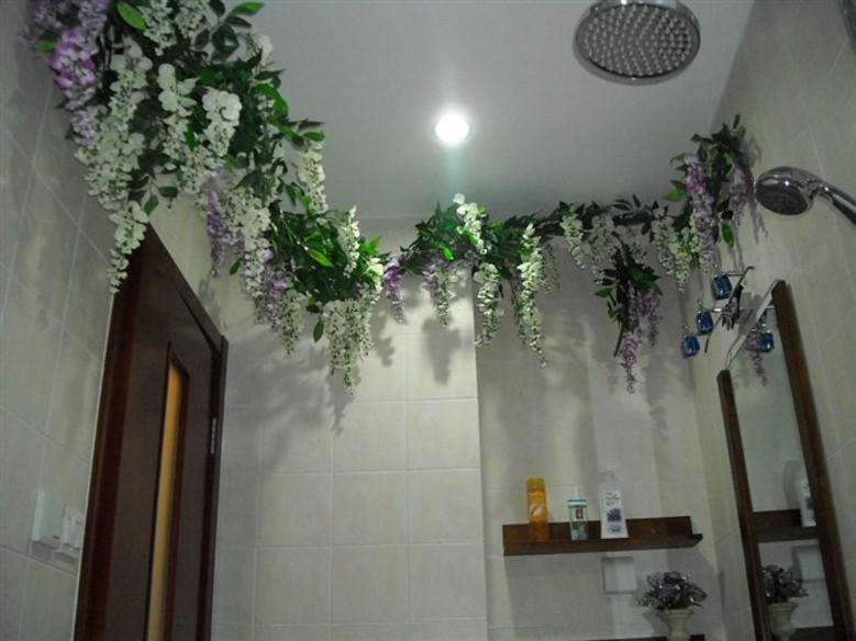 Upscale Artificial Silk Flower Vine Home Decor Simulation Wisteria Garland Craft Ornament For Wedding Party Decorations Free Shipping