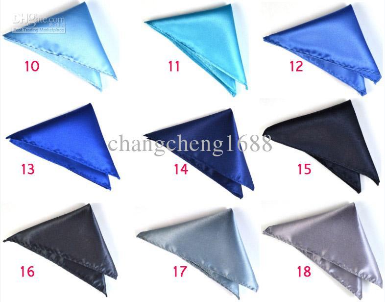 Formal Wear Men handkerchief Pocket Square Handkerchief Hanky Napkin Cocktail Wedding Evening Party Can Choose Color