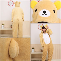 Wholesale Dress Carnival Animal - Hot Adult Cosplay party dress Kigurumi Animal Costume Pajamas Pyjamas Sleepsuit S M L XL