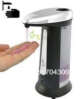 sabun kremi dağıtıcısı toptan satış-Otomatik Sabun Kremi Touchless Handsfree ve Duvara Monte Sanitizer Dağıtıcı