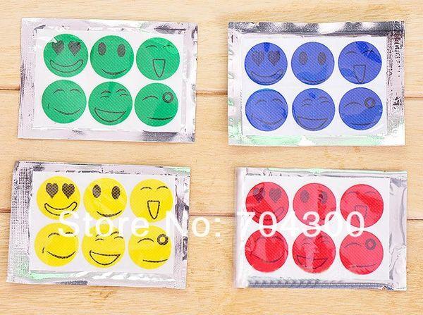 Visage souriant Meilleur Patch répulsif naturel anti-moustiques Sticker insectifuge insecte Camping