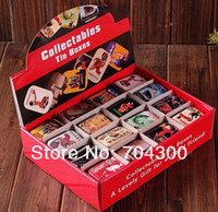 Wholesale Storage Box 15 - Storage tin candy tin box vintage European memory series quality iron case storage case