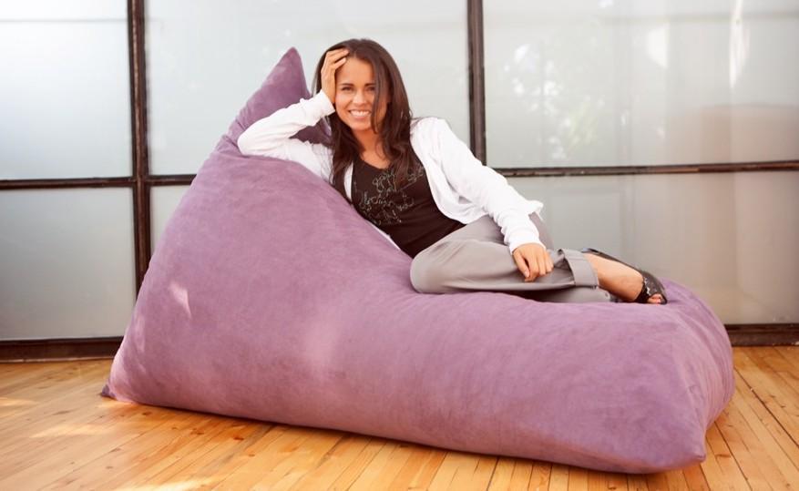 Colorful Bean Bags For Living Room Adornment - Living Room Designs ...