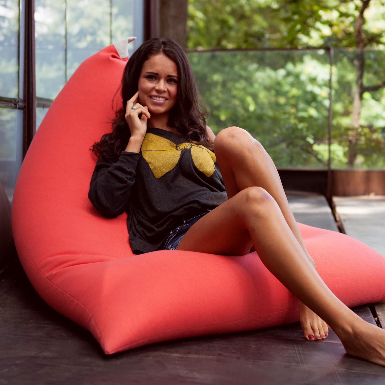 2017 y Red Bean Bag Chair Pivot Beanbags From Cowboy2012