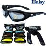 Daisy C5 Not C3 or C4 Desert Storm Sunglasses 4 lenses Goggles Tactical Eyewear For Airsoft Cycling Riding UV400 Glasses Eyewear
