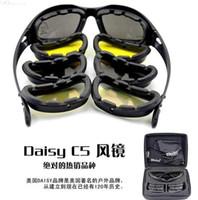 Daisy C5 Not C3 or C4 Desert Storm Sunglasses 4 lenses Goggl...