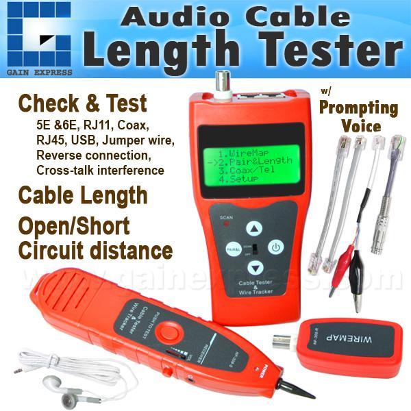 N03NF-308 Multipurpose Digital Network LAN Cable Tracker Tester ...