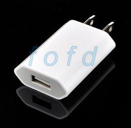 Haute qualité Nouveau blanc EU USB Wall Chargeur secteur Adaptateur secteur UE Plug UE USB chargeur pour iPhone 5 ? partir de fabricateur