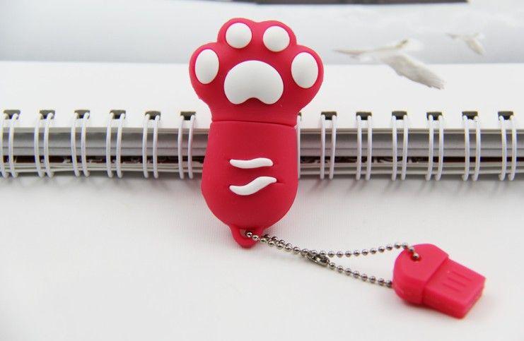 Funny Feet USB Flash Memory Stick Pen Drive U disk Real 2GB 4GB 8GB 16GB+box