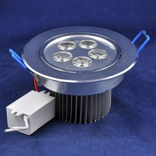 Ultra Brilhante 5 W Regulável Levou Downlights Lâmpada Fresca / Quente CREE Branco Levou Luzes de Teto 110-230 V 80000 hrs 6 anos de garantia