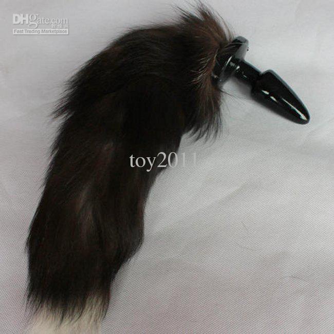 Plug anale dogplay kinky Tail Anale Butt Plug castità coda di volpe BDSM Game bondage Ass Slapper giocattoli del sesso